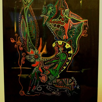 Indigenous Art by Ratoos Haoapa Gary Papua New Guinea (PNG) - Posters and Prints