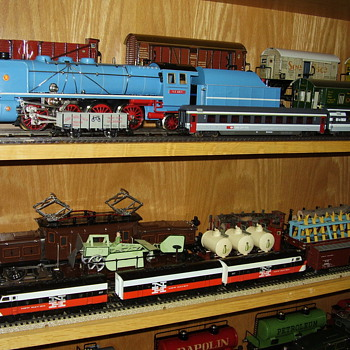 Some of my Marklin locomotives from way back... - Model Trains