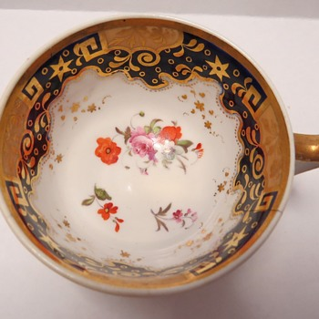 Antique Tea Cup - London Shape - 1810 -1825 - China and Dinnerware