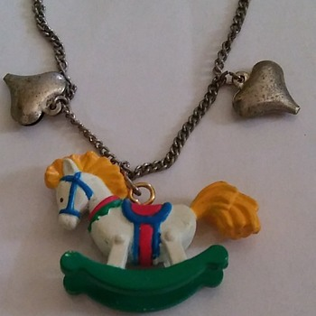 Horse necklace  - Costume Jewelry