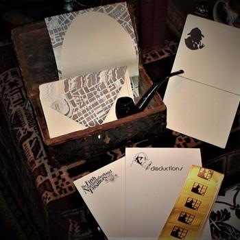 Sherlockian Stationary - Paper
