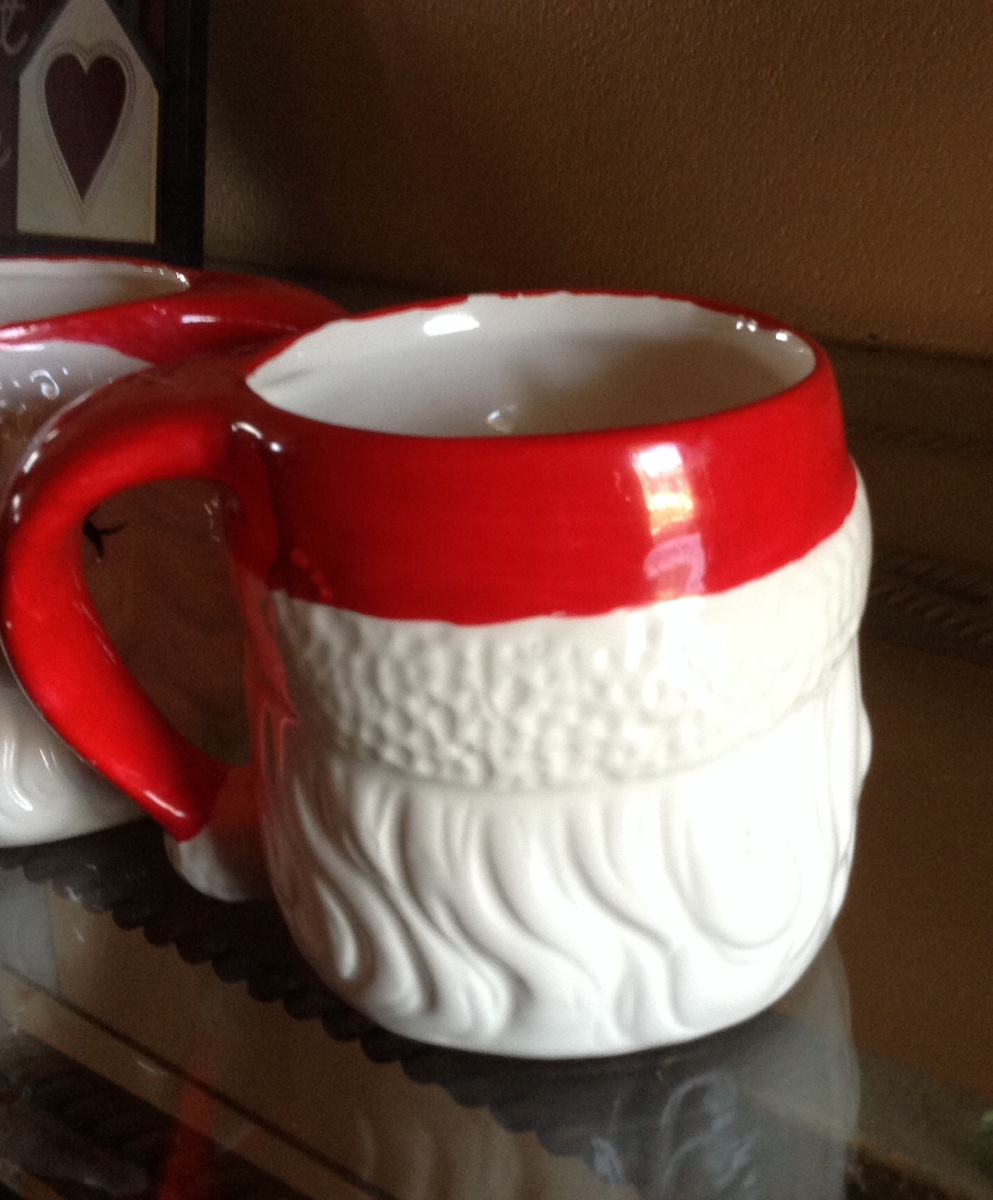 Vintage Santa Mugs Collectors Weekly