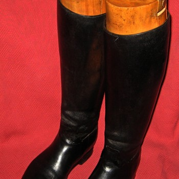 Vintage John Lobb English Bespoke Riding Boots - Shoes