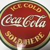 Coca Cola bulls eye sign 1933