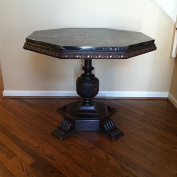 Mother's Antique Octagon Center Table