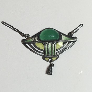 Antique Jugendstil Hermann & Speck Attributed Necklace - Fine Jewelry