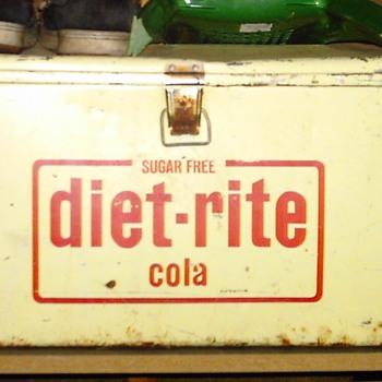 Diet Rite Cooler - Advertising