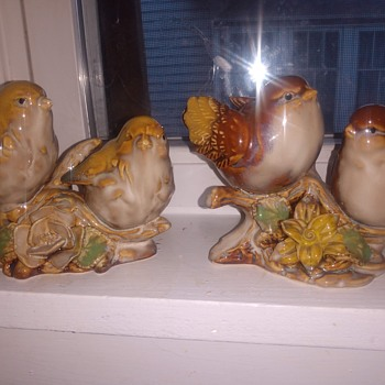 Ceramic Birds - Figurines