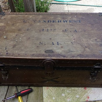 U. S. Army Trunk? - Furniture