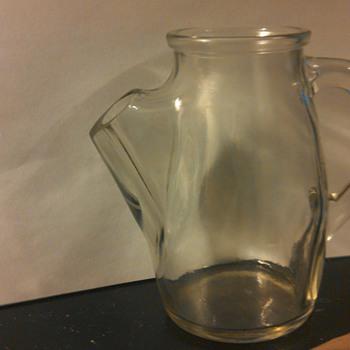 Glass jar ( No idea what kind) - Glassware