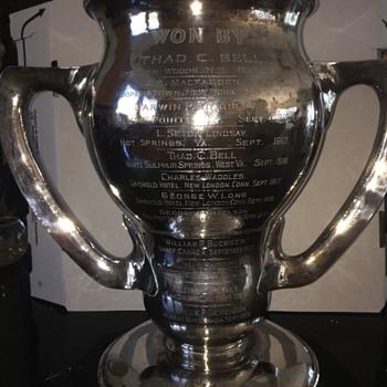 Sterling Silve Trophy Golf - Silver