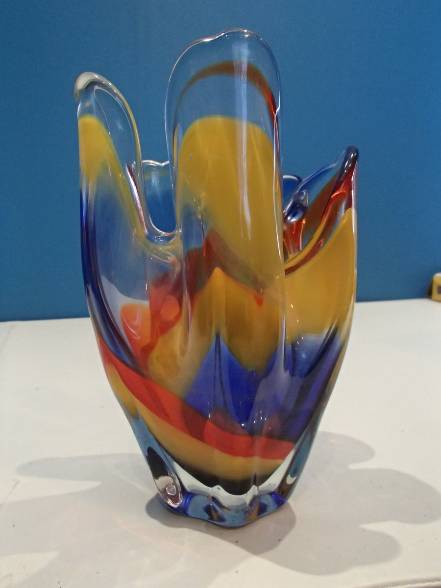 Help Me Identify Murano Vase Maybe Collectors Weekly