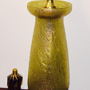 "Loetz Candia Mimosa Vase Lamp 11.5"" PN II-5870, ca 1908 - Art Nouveau"