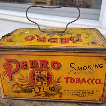 Pedro Smoking Tobacco Tin - Tobacciana