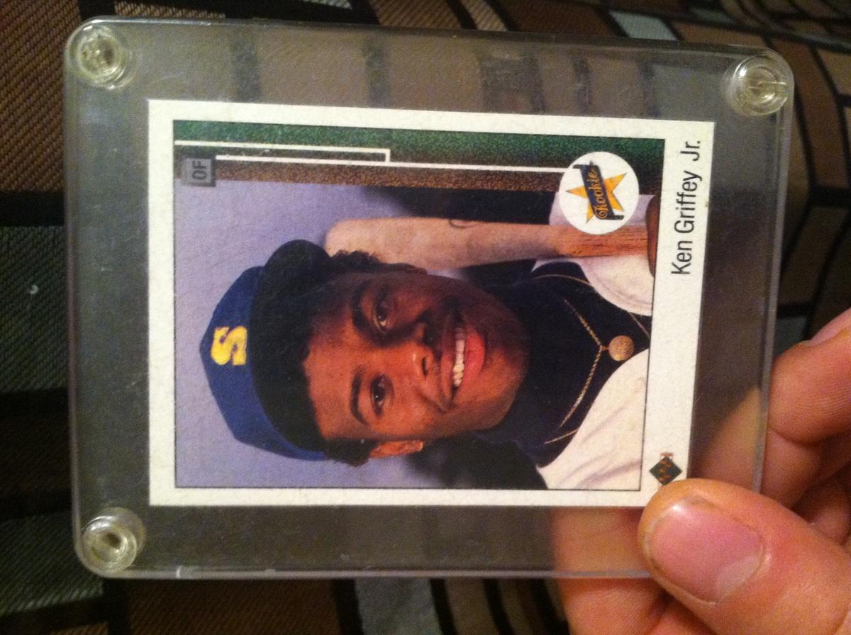 89 Ud Ken Griffey Jr Rare Misprint Error Collectors Weekly
