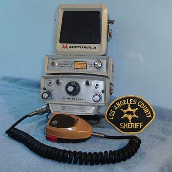 Motorola Motrac radio head - Electronics