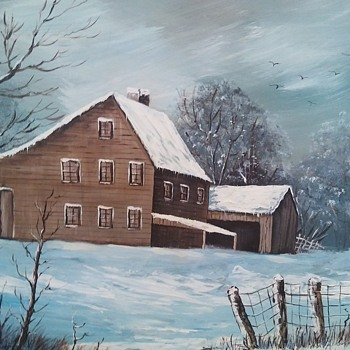 New art piece I picked up. Li Gardiner ? - Fine Art
