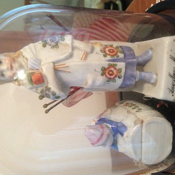1800's porcelean figurines seeking info