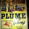 Plume Pump Advertizing Sign