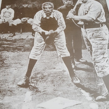 Unknown  players - Baseball