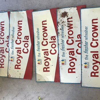 Royal Crown Cola Signs - Signs