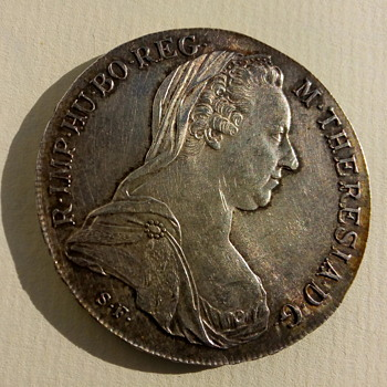 Burgau Maria Theresa Thaler COIN - World Coins