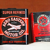 1920's Aero Eastern Motor Oil Can