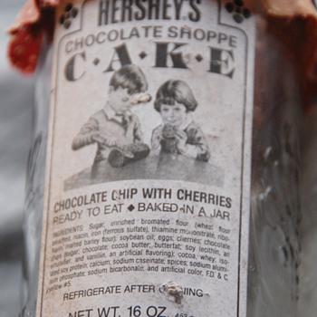 Hershey's Chocolate Shoppe Cake_Mason Jar_1960s