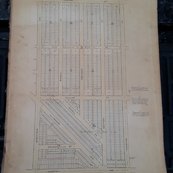 old CHICAGO atlas pages? - Books