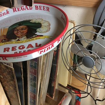Glass , Bottle or Can ,that  Prince Regals is the Man - Breweriana