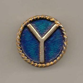 """""""Y"""" Initial Pinback"""