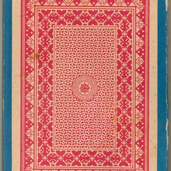 "Playing Cards ""Red back"" Made in India - Cards"