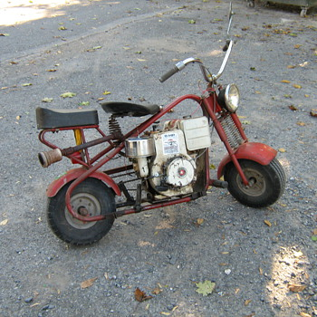MY 1963 SIMPLEX COMPACT SPORTSMAN MOTORBIKE - Motorcycles