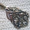 Art Nouveau Silver Pendant Antique Market Find $8.00