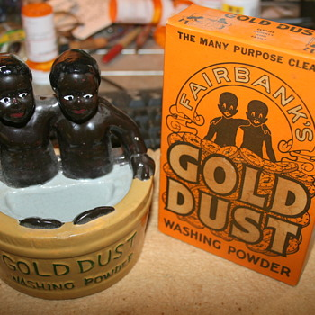 Some Black Americana Bottle Openers, Gold Dust and Banks - Advertising