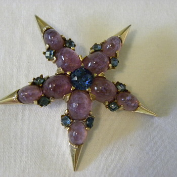 Marcel Boucher Star Brooch