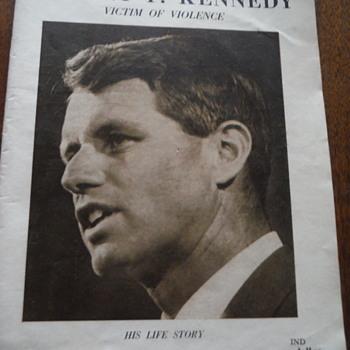 Robert  F. Kennedy Photographic Report, victim of violence - Politics