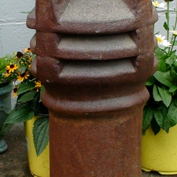 Antique Louvered/Vented Chimney Pot - Tools and Hardware