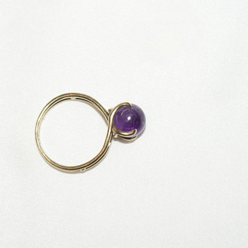 """Little Gold Ring Marked """"333"""""""
