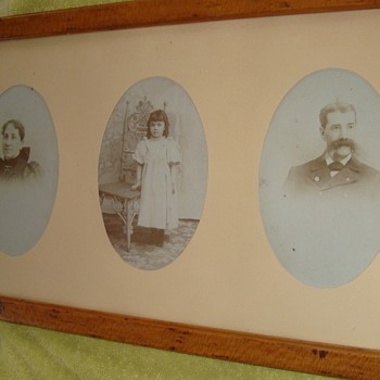 Photos of Union Veteran, and his family. - Photographs