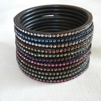 Flex spring bangle bracelets - Costume Jewelry