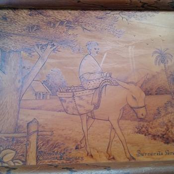 Help? R. Jimenez Caacuze Paraguay Burrerita Paraguaya - Fine Art
