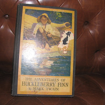 "1st Edition ""The Adventures of Huckleberry Finn"" Hardcover Book - Books"