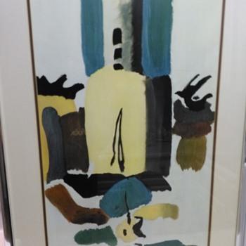 ARTHUR DOVE LITHOGRAPH FLOUR MILL II - Fine Art