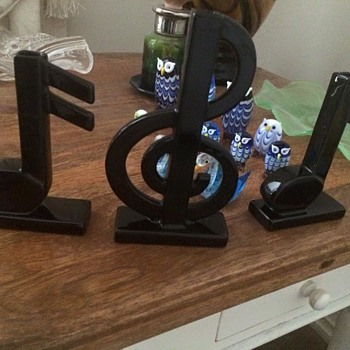 Music Vases - Treble Clef and 2 Semi Quavers - Pottery