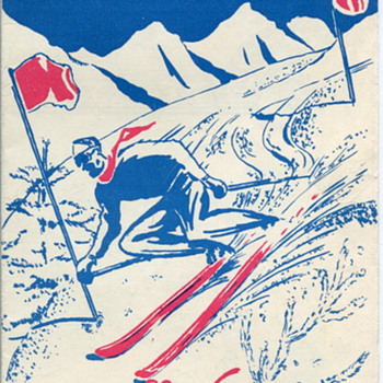 """USFA  Special Services """"Skiing in Austria"""" Brochure"""