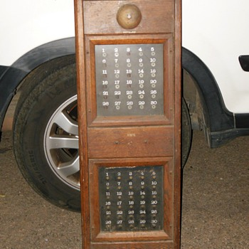 COTELCO push buttons and lights panel, annunciator for hotel or office