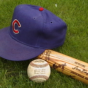1979 Dave Kingman Game Used Cap, Bat, & 214th Career HR Ball