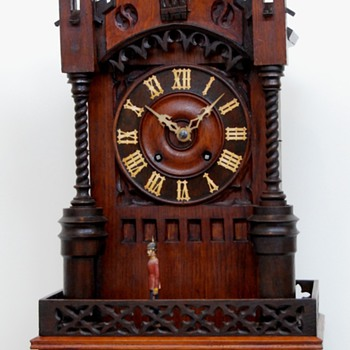 Black Forest Cuckoo Clock with Sentry Automata - Clocks