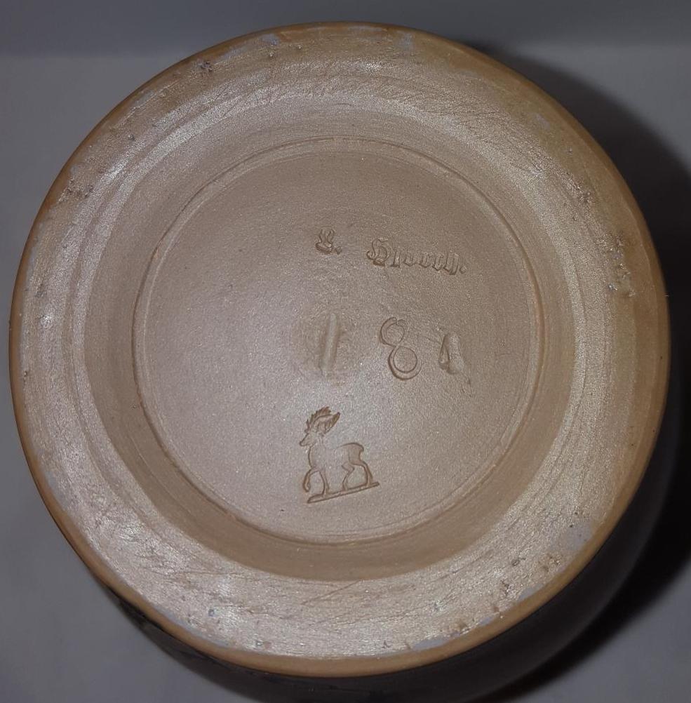 & Danish Art Pottery Vase L. Hjorth | Collectors Weekly